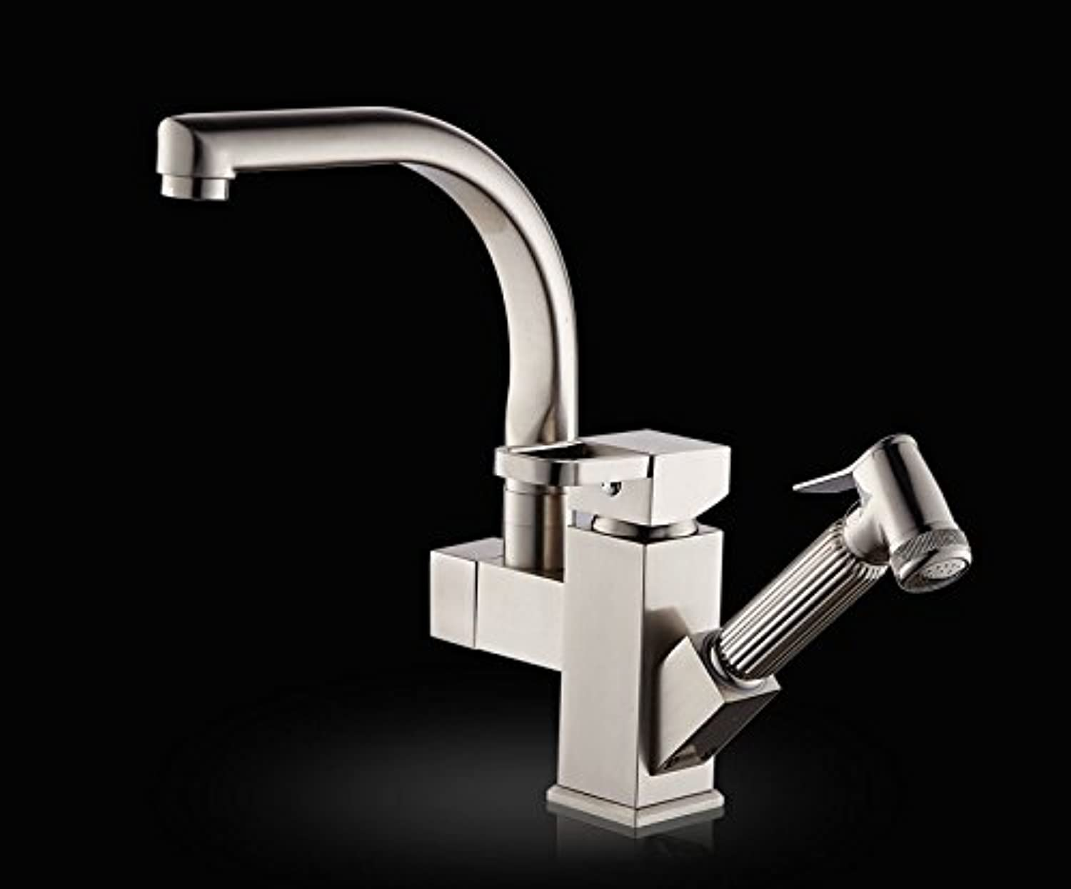 Bijjaladeva Antique Bathroom Sink Vessel Faucet Basin Mixer Tap Pull kitchen faucet brass body full of hot and cold dishes and wash basin faucet 000 to redate the dish sink taps A