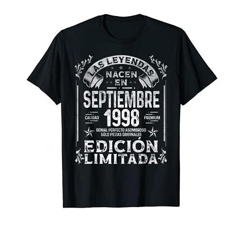 Las Leyendas nacen en Septiembre de 1998 23 años Cumpleaños Camiseta
