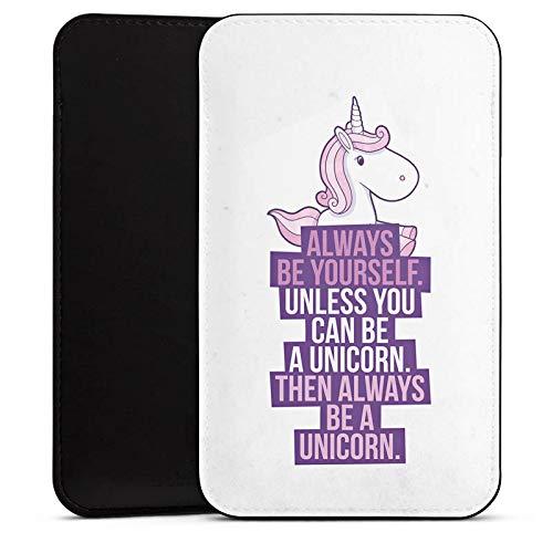 DeinDesign Cover kompatibel mit Wiko Highway Star Hülle Tasche Sleeve Socke Schutzhülle Einhorn Unicorn Sayings