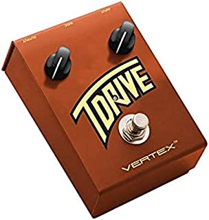 Vertex Effects T Drive Overdrive Guitar Effects Pedal, Sonic Recreation of the Trainwreck Express Amplifier, Guitar and Ba...