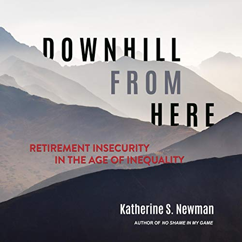 Downhill from Here audiobook cover art