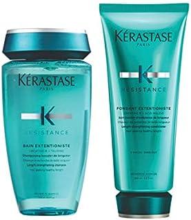 Kit Shampoo Condicionador Kérastase Resistance Extentioniste (250ml e 200ml)