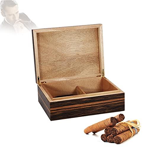 Caja De Cigarros,humidor De Cigarros, Humidor De Puros Sostiene 50 Pcs Caja De Cigarrillo De Cedro Español, Caja De Visualización De Cigarro Humidor