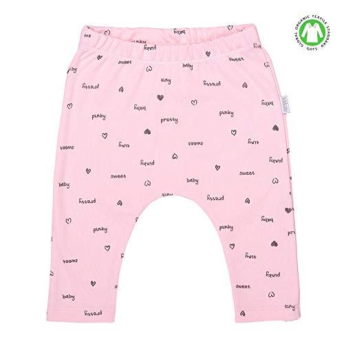 Sevira Kids - Pantalon legging bébé en coton biologique - Pretty