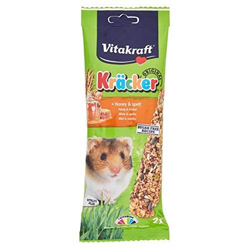 Vitakraft C-90030 Barrita de Cereales Recubierta con Miel - 112 g