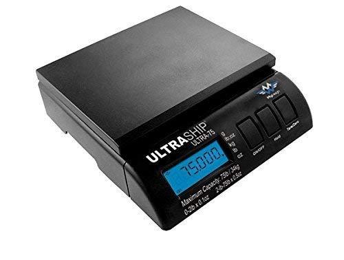 Ultraship Serie gewichten pakketten keukenweegschaal model Ultraship 75 kg elektronische digitale adapter inclusief snelle verzending