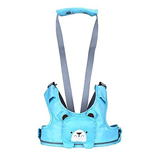Binnan Regolabile Camminare Cintura Imbracatura Sicurezza Bambino Basket Style Baby per Bambino Blu