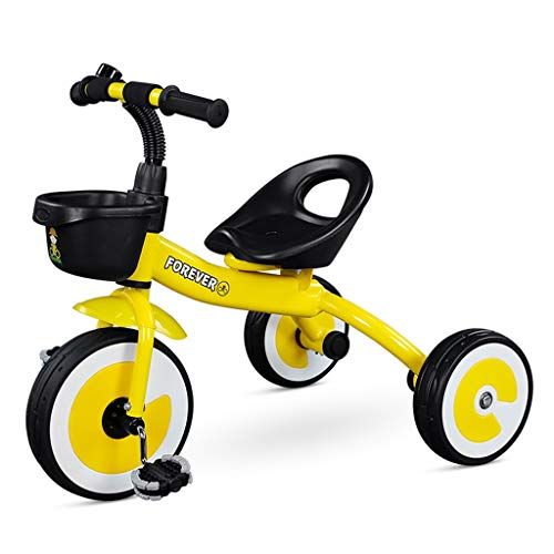 For Sale! Baby Stroller - Children's Tricycle 1-3 Years Old Baby Bicycle Child Bicycle (Color : Yell...