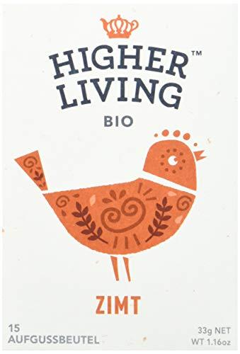 Higher Living Zimt Bio Kräuterteemischung, 15 Teebeutel, 1er Pack (1 x 33 g)