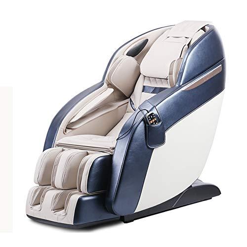 ZHANG Massagesessel 4D Zero Gravity Kneading Fuß Shiatsu Elektroganzkörper