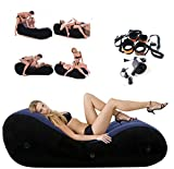 Inflatable S&éx Sofa Postioning Sofa Magic Aid Cushion for Adult Deeper Love Position Sofa Support PVC Flocking Bed for CouplesTravel Exercise Bed Skills Portable Living Room Sofa