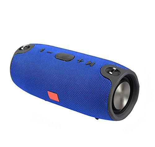 Altavoz Bluetooth portátil para exteriores, impermeable, con columna estéreo inalámbrica con micrófono,...