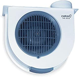Cata Gs 600 Extractor centrífugo de cocina, 105 W, 230 V, Blanco y
