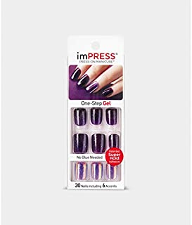 Kiss imPRESS GEL MANICURE - BRIGHT AS A FEATHER (BIPD280)