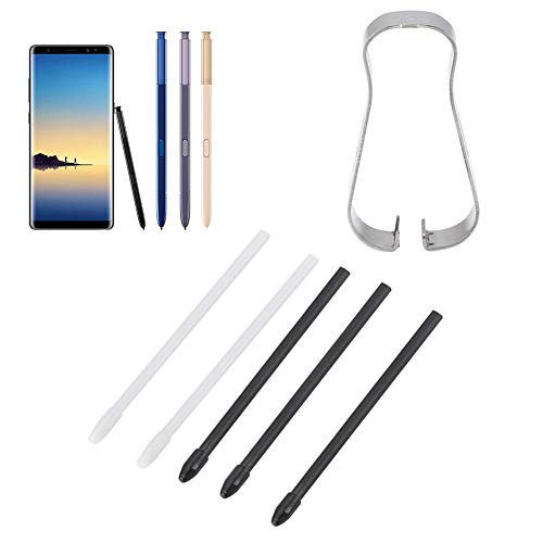 Byged Tips S Pen, Replacement tylus S Pen Tips Pen Refill Tool Set for Samsung Galaxy Note 8/9 Tab S3/4.(Black)