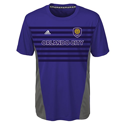 MLS by Outerstuff Boys' Short Sleeve Fan Nation Tee, Regal Purple, Kids Large(7)
