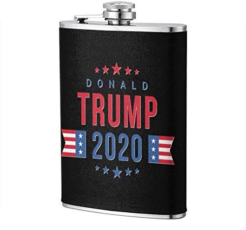 TRUMP 2020 Flachmann Wein Flagon Mug Funny Novelty 8oz