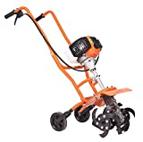 Neptune Simplify Farming Garden Mini Power Tiller/Cultivator/Rotary/Weeder with 2 Stroke 52 CC Engine (NC-52-Top)