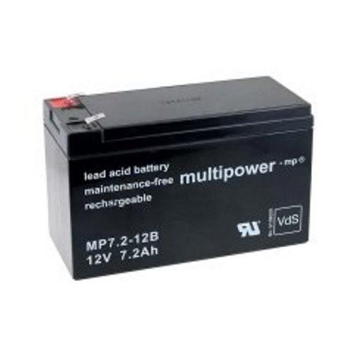 Heib kwaliteitsaccu - accu voor UPS APC Back-UPS ES550-12V - lood-zuur - PB - 7.2Ah