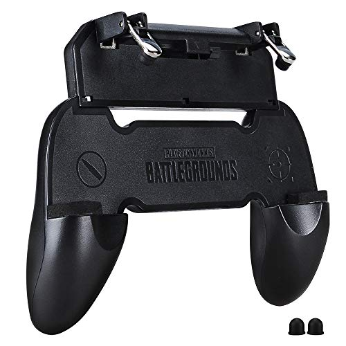 Qoosea Controlador de Juegos móvil PUBG Gamepad Sensitive Shoot Aim Joysticks Handgrip Game Trigger para Knives out/PUBG