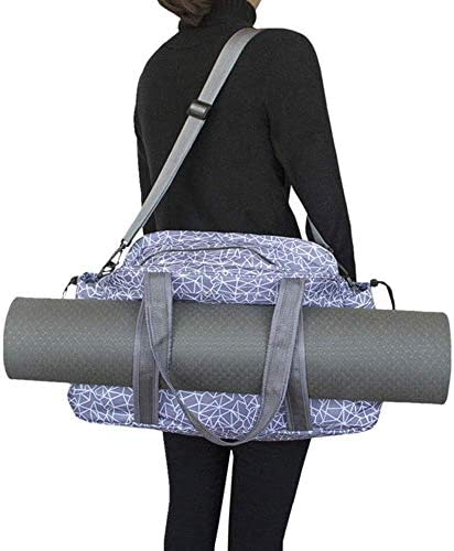 Fnoko Yoga Mat Tote Storage Bag Pilates Clothing and Gym Accessories Carrier Large Capacity product image
