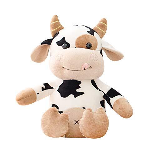 Fymmm`shop Plüschtiere 40Cm Plüschkuhspielzeug Nettes Vieh Plüsch Kuscheltiere Vieh Weiche Puppe Kinderspielzeug Geburtstagsgeschenk Für Kinder
