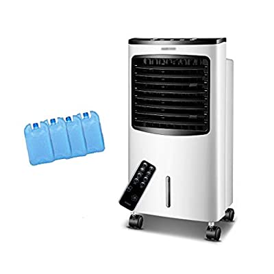 Bedroom Air Conditoner,Portable Evaporative Unit, With Remote Control,Humidifier And Purifier,3 Fan Speed,For Home Office Bedroom(Free Ice Tray)