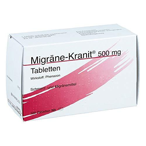 MIGRÄNE KRANIT 500 mg Tabletten 100 St