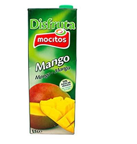 NECTAR DE MANGO SIN AZUCAR AÑADIDO DISFRUTA MOCITOS BRICK 1.5 LT (8 BRICKS)