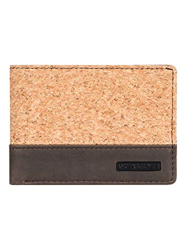 Quiksilver Natiberry - Bi-Fold Leather Wallet for Men - Männer