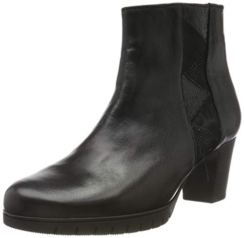 Gabor Shoes Damen Comfort Basic Stiefeletten, Schwarz (Schwarz (Micro) 57), 41 EU