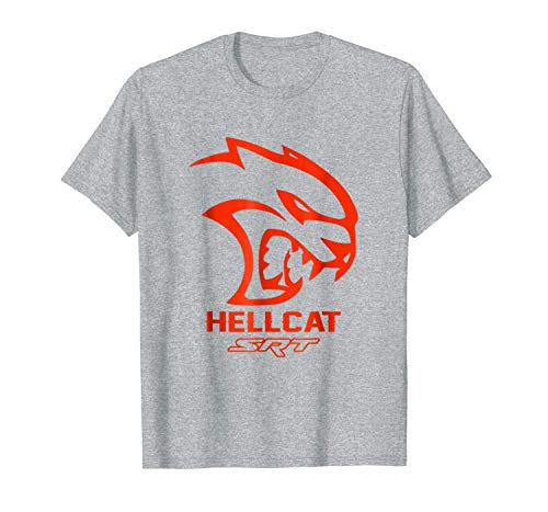 Funny T-Shirt SRT Hell Cat Dodge Orange, Hell Cat