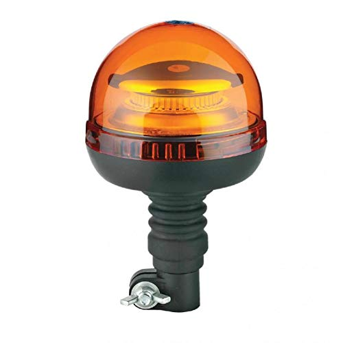 Lampeggiante LED Trattore Camion con INNESTO Flessibile OMOLOGATO E9