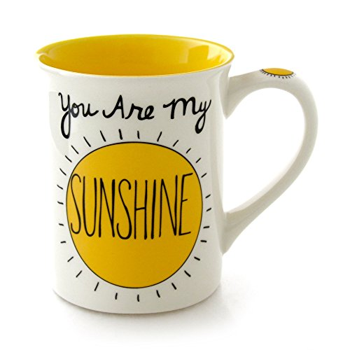 "Our Name is Mud ""You Are My Sunshine"" Stoneware Mug, 16 oz."