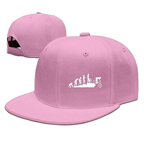 sand Flat Brim Baseball Cap for Unisex, Mountain Bike Downhill Breathble Hip Hop Cap