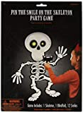 amscan 394842 Skelett-Party-Zubehör, 14-teilig, mehrfarbig, Einheitsgröße