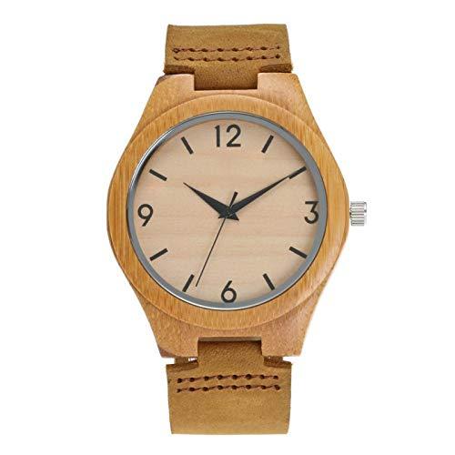 YQCH Reloj De Temperamento Simple, Reloj De Cuarzo De Alumnos Luminoso De La Niebla No De Agua, Reloj Unisex (Size : B)