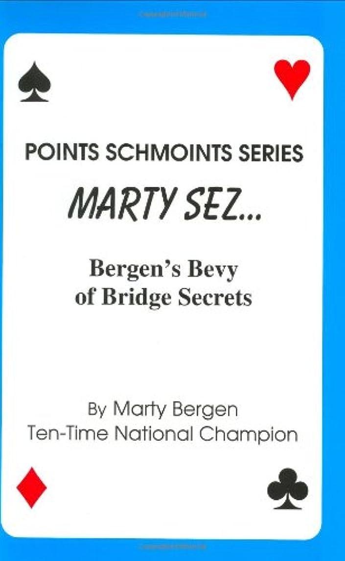Marty Sez (Points schmoints series)