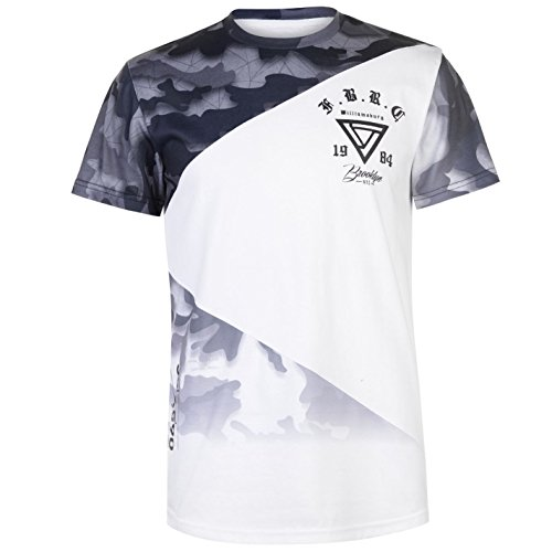 Fabric Hombre Camiseta Deportiva Manga Corta Sublimation Camo Cut&Sew S