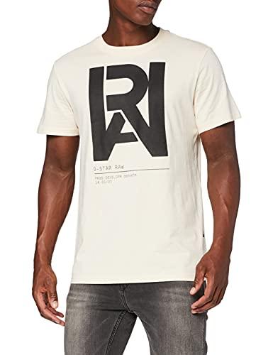 G-STAR RAW D19893 Camiseta, Crudo 336-159, XXL para Hombre