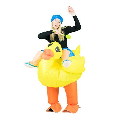 Bodysocks® Costume Gonfiabile da Anatra per Adulti
