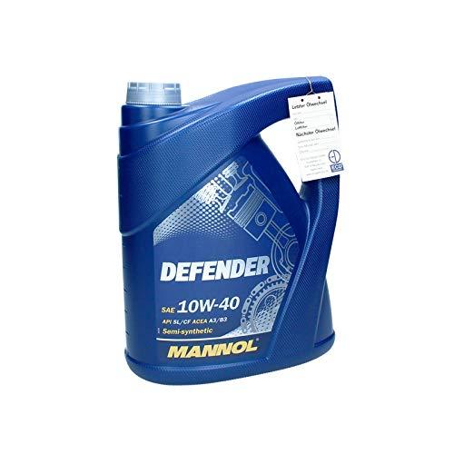 5 L MANNOL Defender 10W40 Motoröl