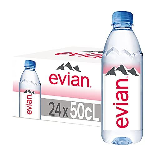 Evian mineraalwater, 1 pak (24 x 500 ml)