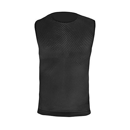 GripGrab - Camiseta Interior sin Mangas para Ciclismo (Tallas XL/XXL), Color Blanco y Negro