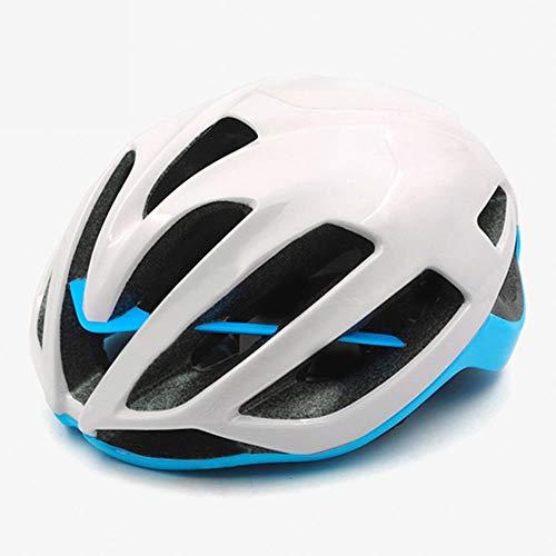 Rode Fietshelm Dames Heren Fietshelm MTB Bike Mountain Road Fietsen Veiligheid Buitensporten Grote Helm, J, L 59-62cm