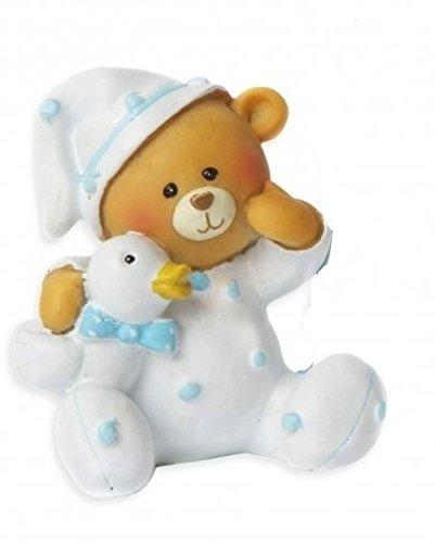 Spardose Sparbüchse Baby Taufe Geburt Geldgeschenk | rosa, oder blau | Bärchen, Teddy (hellblau)
