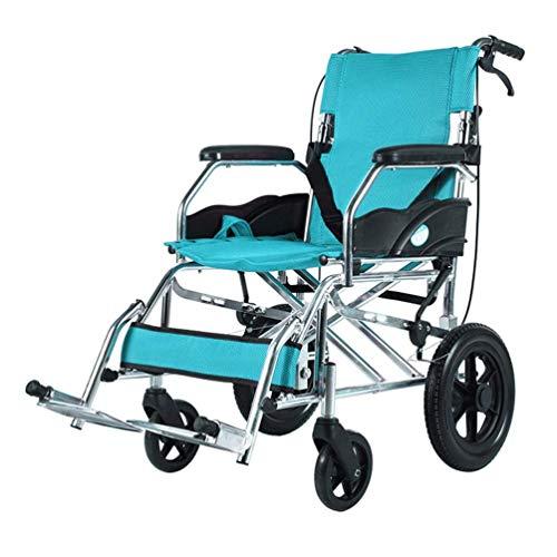 Wheelchair Self propelled Transport Elderly Travel Chair Disabled Senior Stroller Transport Kids Folding Transport Portable Small Wheel Displacement Rehabilitation Crowd Best