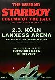 The Weeknd - Starboy, Köln 2017 » Konzertplakat/Premium