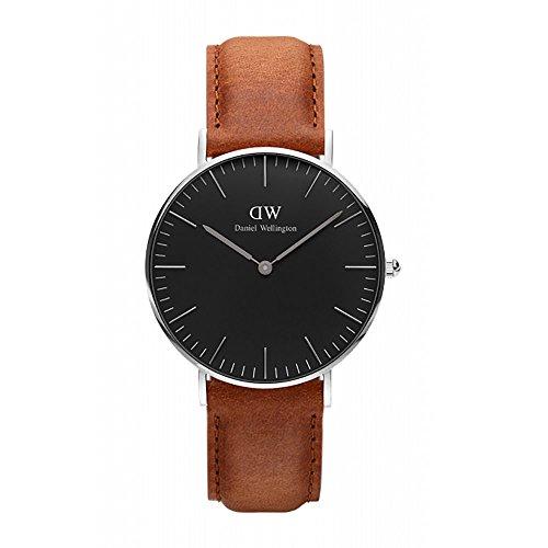 『CLASSIC BLACK新品Daniel Wellington ダニエル ウェリントン レディース腕時計 クラッシー 本革 腕時計 ピンクゴールド 36mm [並行輸入品]』のトップ画像