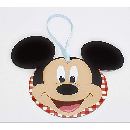 Scotton 20 Pcs Mickey Disney Fête Carte Invitation ou Décoration 12 CM